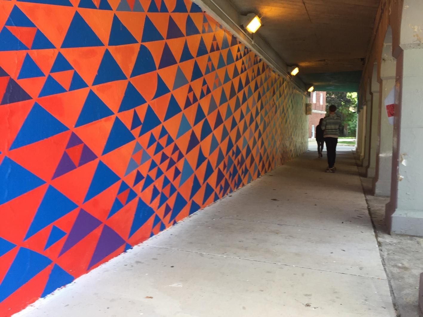 Cole Pierce - Albion St Viaduct Mural
