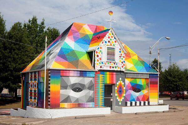 'Universal Chapel' by Okuda San Miguel, Fort Smith, Arkansas