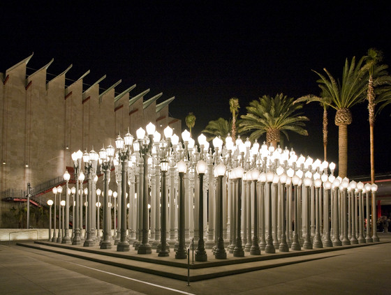 'Urban Light' by Chris Burden, Los Angeles, California