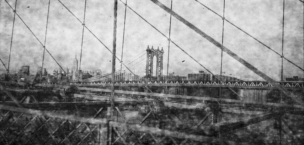 Evan Morris Cohen- Through Roebling's Bridge
