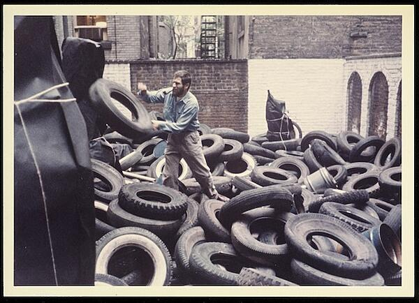 Yard by Alan Kaprow (1961)