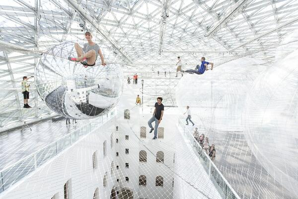 In Orbit by Tomas Saraceno (2013)