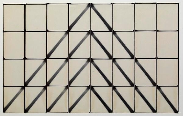 "Jared Bark, ""Untitled"" (1973), silver gelatin prints. Image courtesy of Hyperallergic."