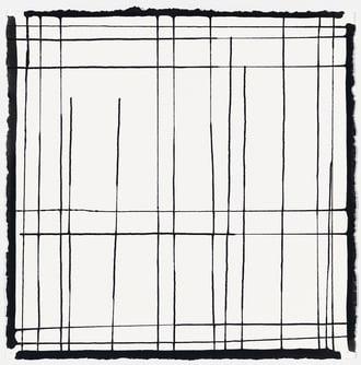 LYNN BASA - GRAVITY DRAWING - BLACK ON WHITE #2