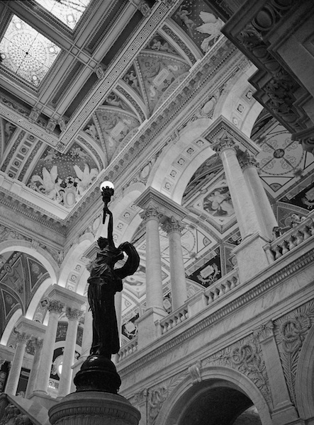 Library of Congress Statues - Great Hall, Thomas Jefferson Building