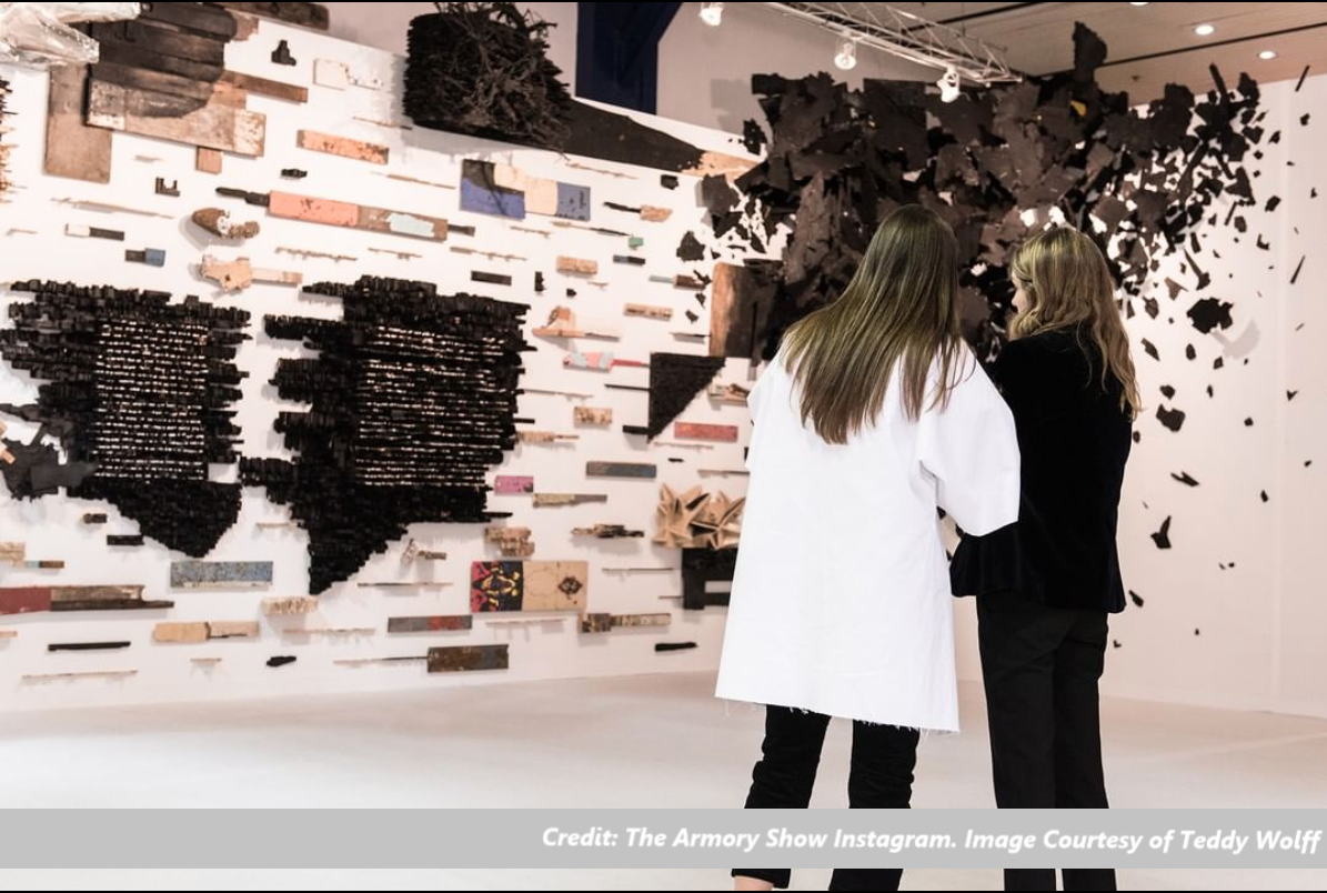 Credit_ The Armory Show_Instagram_Image Courtesy of Teddy Wolff_Header Image