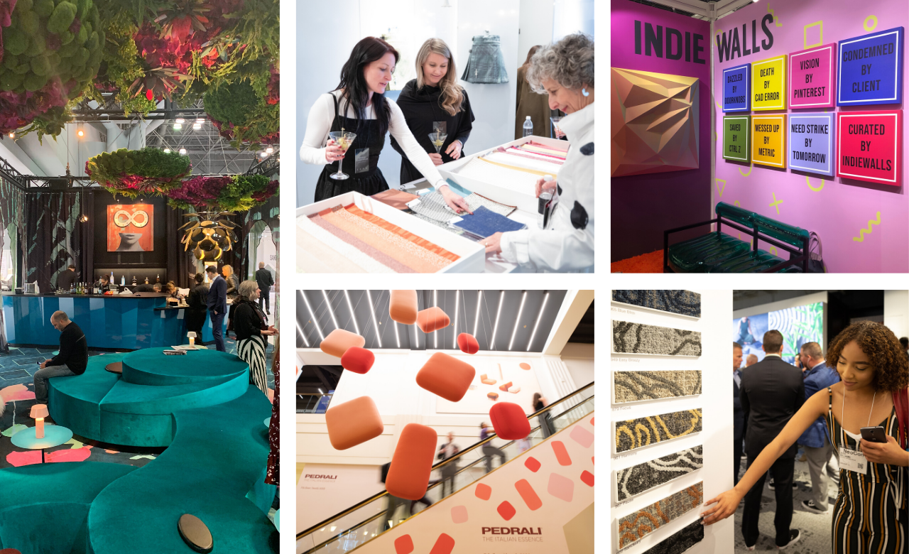 The Ouroboros Lounge at BDNY 2018 co-sponsored by Indiewalls, NeoCon 2019, Indiewalls booth at BDNY 2019, Neocon 2019, Neocon 2019